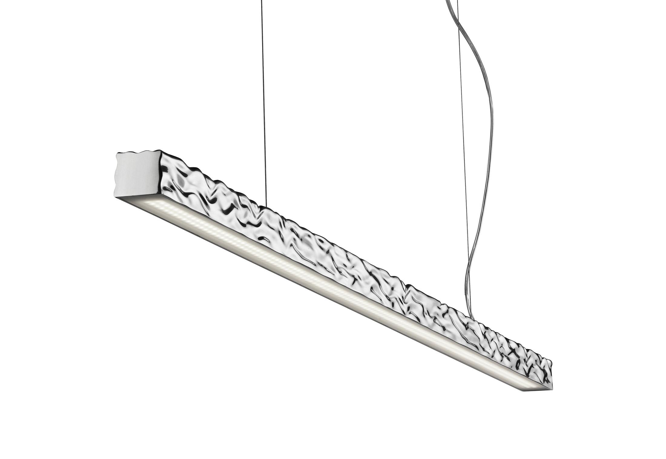 Flos LongampHard Pendant Lamp Aluminium F3380050
