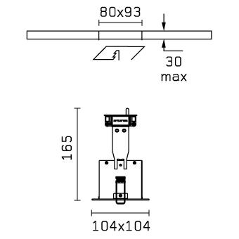 Micro Battery 1L blanco 1xQR-CBC 51 50w Flos Architectural Foto