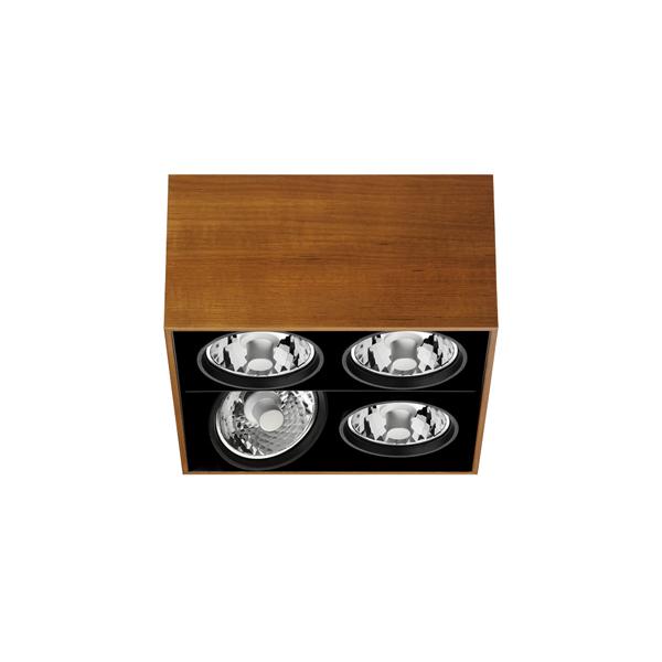 flos architectural compass box 4l cuad h 160mm white c. Black Bedroom Furniture Sets. Home Design Ideas