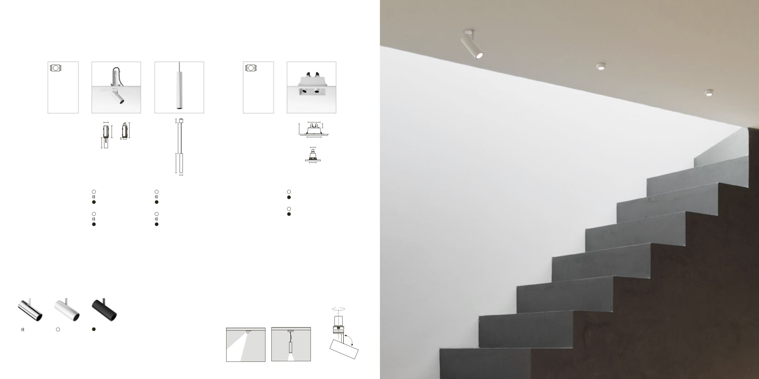 Flos architectural find me double point power led 6w white for Find architecture