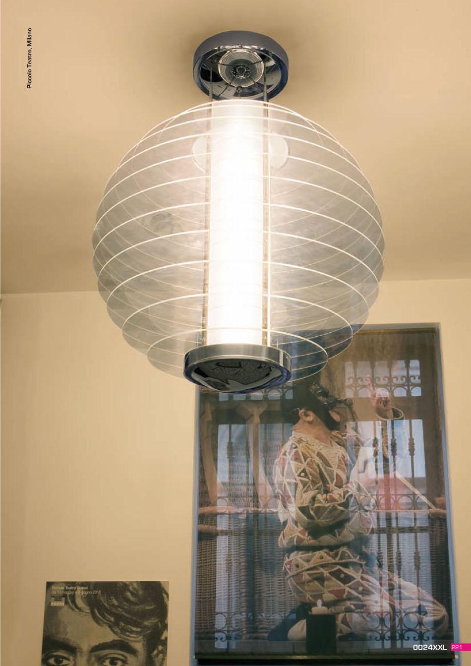 Fontana Arte 0024XXL lamp Pendant Lamp 4x54w (FL) g5 0024-3VN ...