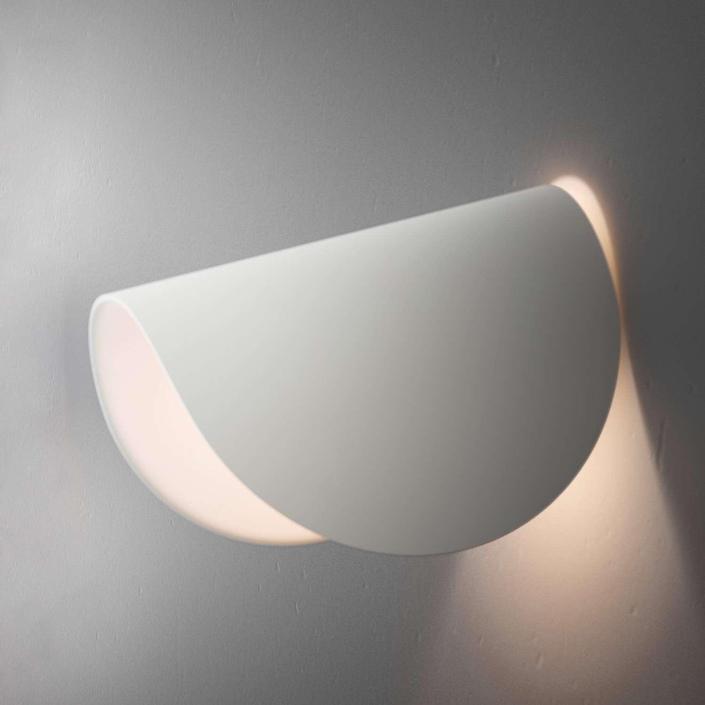 Fontana Arte Io Applique 2 LED 4,5W Bianco 4299BI - Lámparas de diseño