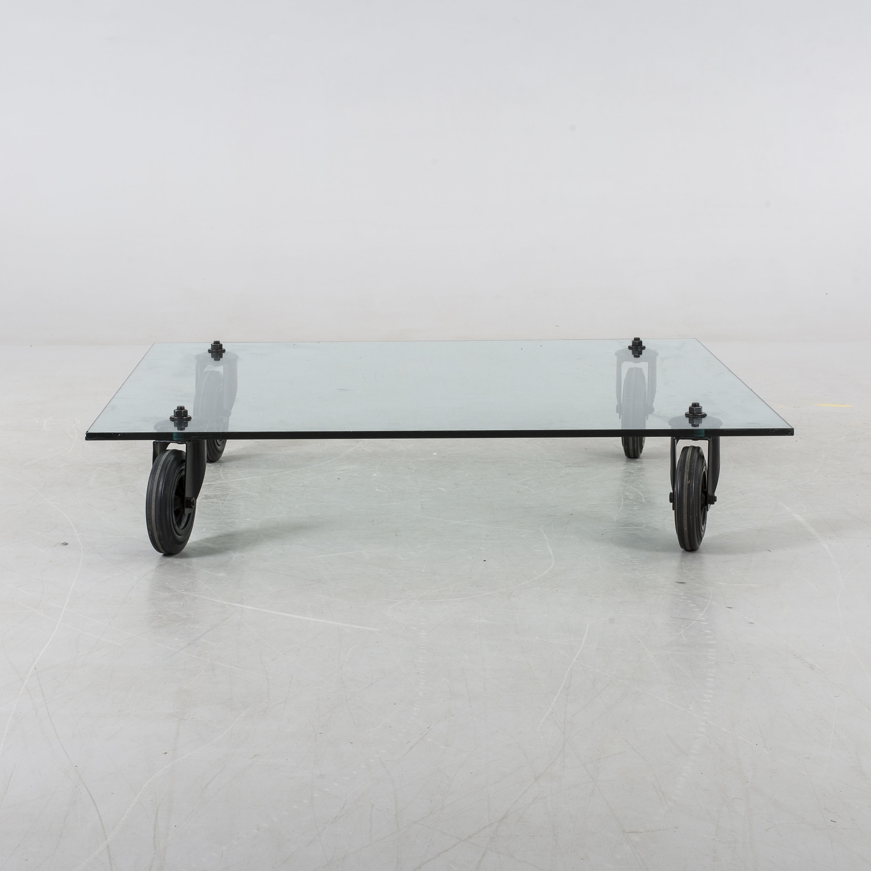 Fontana Arte Tavolo tavolo con ruote 140x70x25cm 2652 - Lámparas de ...