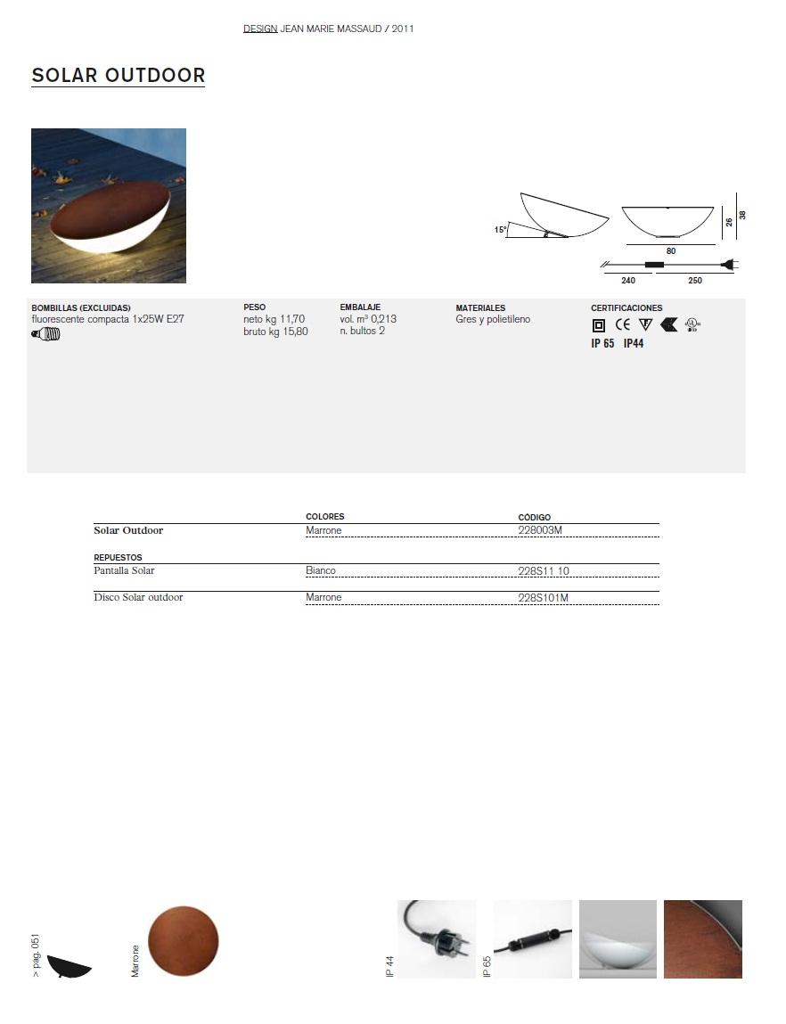 foscarini solar im freien l mpara von stehlampe 228003m. Black Bedroom Furniture Sets. Home Design Ideas