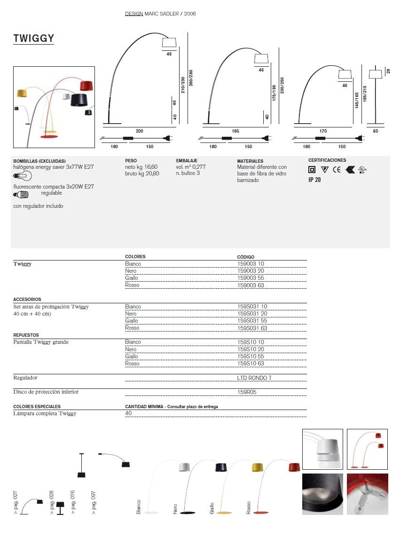 foscarini twiggy ersatzteile ersatzteile 159s10 63. Black Bedroom Furniture Sets. Home Design Ideas