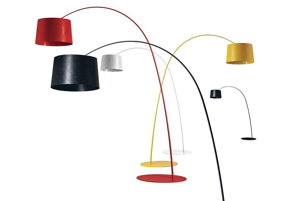 foscarini twiggy stehlampe e27 3x77w wei 159003 10. Black Bedroom Furniture Sets. Home Design Ideas