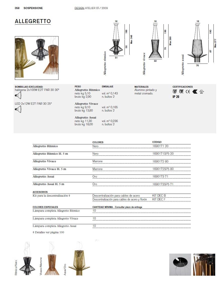Foscarini Allegretto Ritmico Pendant Lamp 51cm 1690171 20