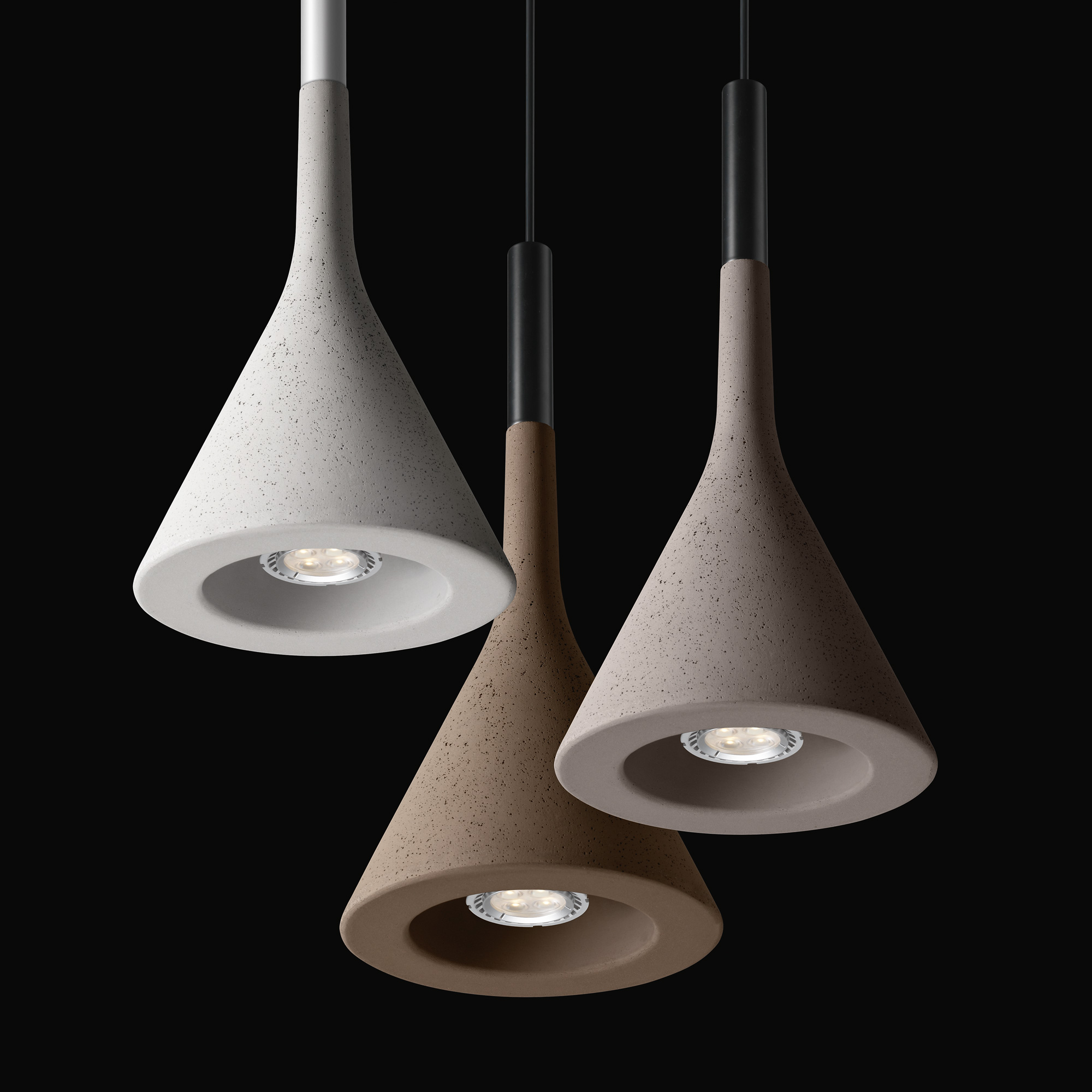 foscarini aplomb mini lamp pendant lamp white 195027sr 10. Black Bedroom Furniture Sets. Home Design Ideas