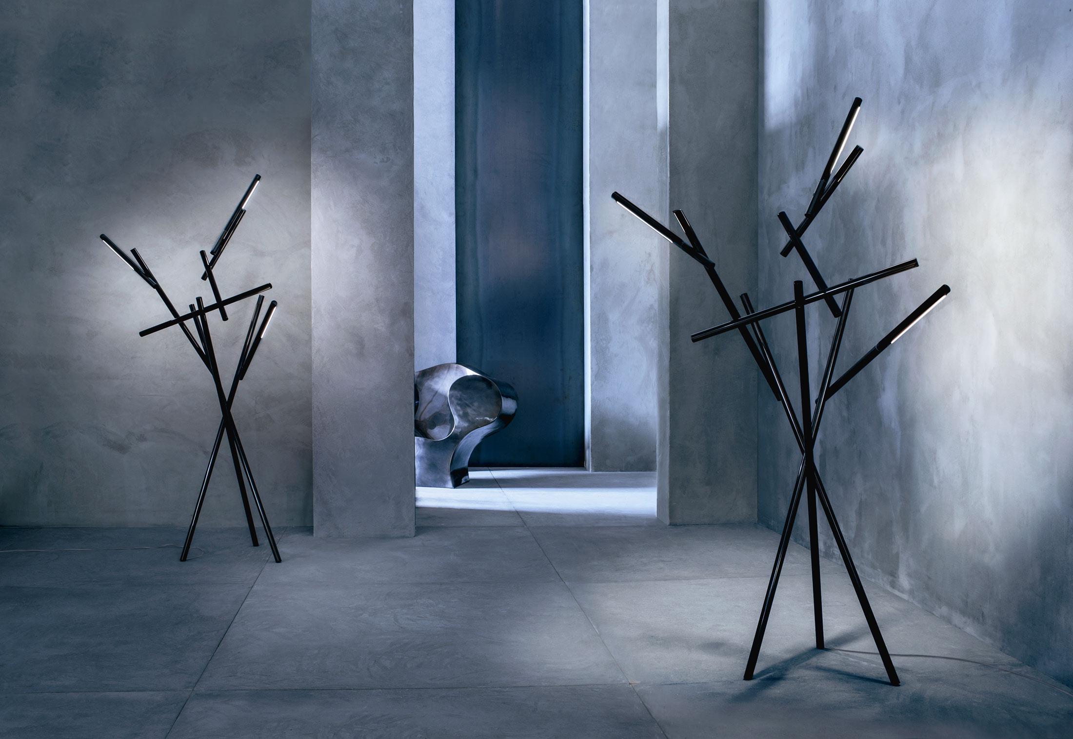 foscarini tuareg l mpara von stehlampe orange 255003 53. Black Bedroom Furniture Sets. Home Design Ideas