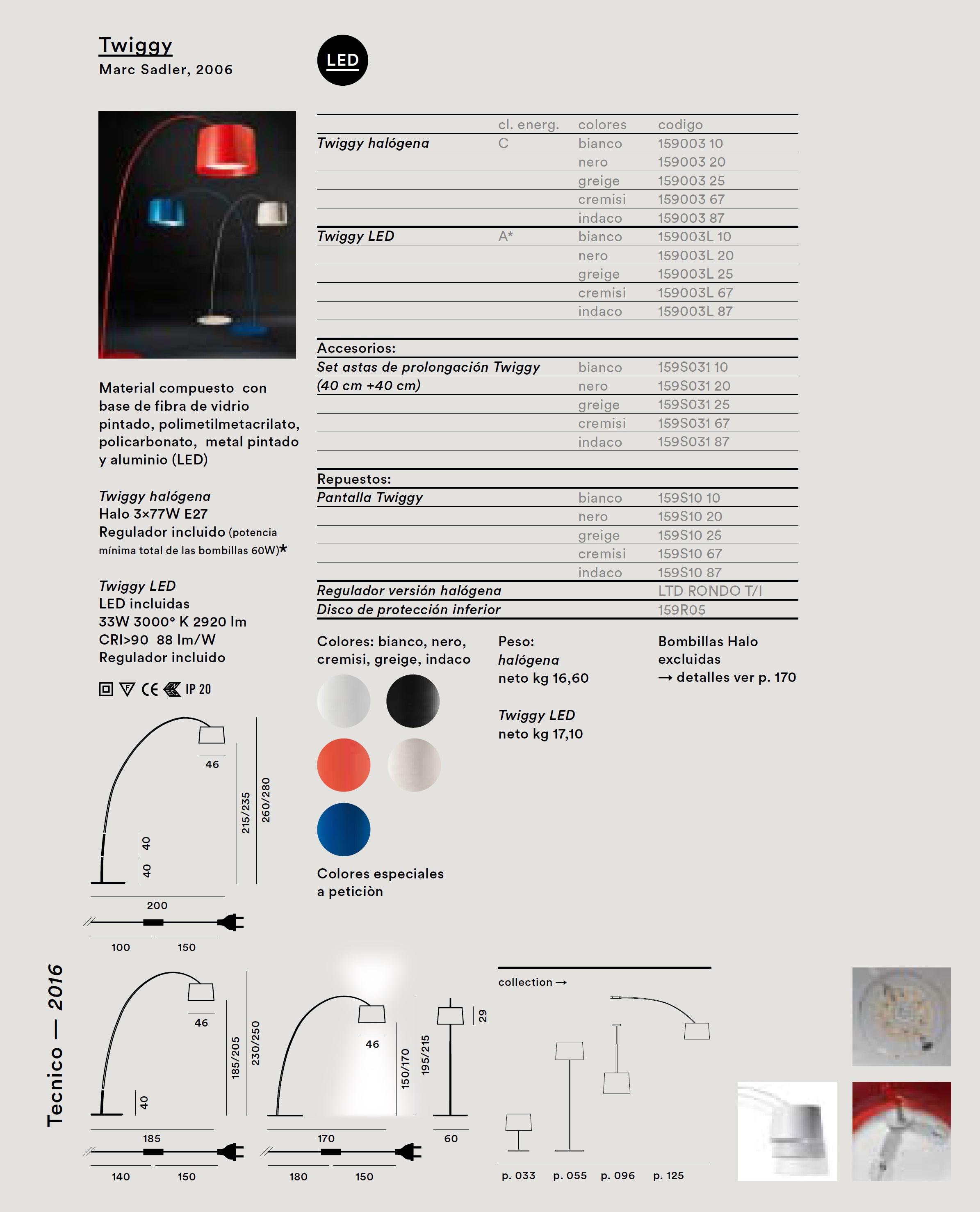 foscarini twiggy zubeh rteil reitzeug f r 159s03lr1 20. Black Bedroom Furniture Sets. Home Design Ideas