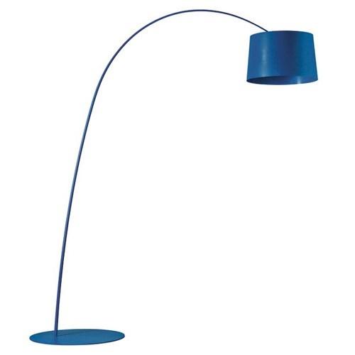 Foscarini Twiggy Stehlampe Halogena Blau 159003 87
