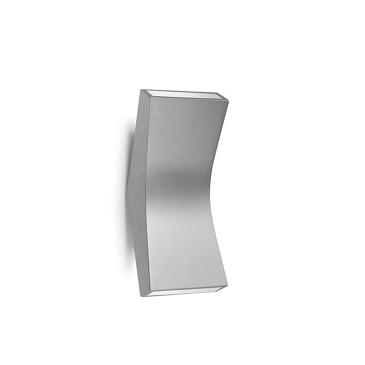 Bend Aplique 22cm LED 4,5w 2 haz de luz Aluminio Ecobright Grok Foto