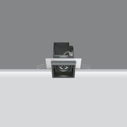 iguzzini deep minimal recessed adjustable 50w 12 l mparas de dise o. Black Bedroom Furniture Sets. Home Design Ideas