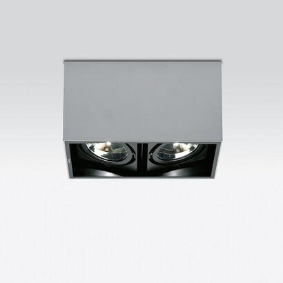 iguzzini deep surface luminare corpo grande con 2 l mparas de dise o. Black Bedroom Furniture Sets. Home Design Ideas