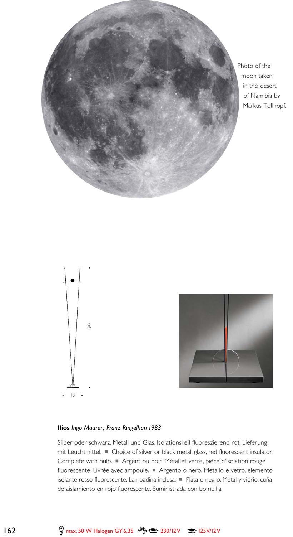 ingo maurer ilios l mpara of floor lamp black mau420030. Black Bedroom Furniture Sets. Home Design Ideas