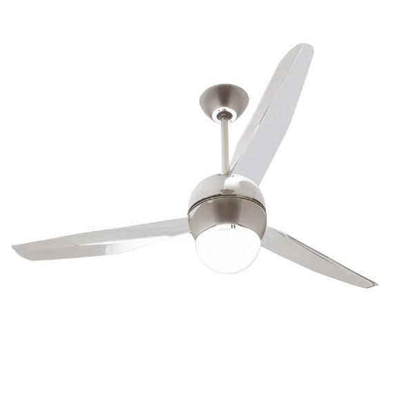 Italexport sfera ventilador 126cm con luz led 17w 3 1207 - Lamparas con ventilador ...