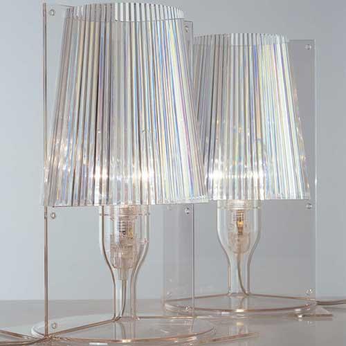 Kartell Take Lampada da tavolo E14 IBA max 28W 9050 - Lámparas de ...