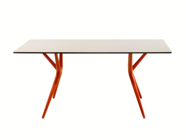 Kartell spoon table table de bureau plegable 4508 for Bureau kartell