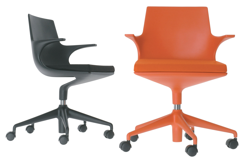 Sedie Da Ufficio Kartell : Kartell spoon chair sedia di ufficio con ruote lámparas de