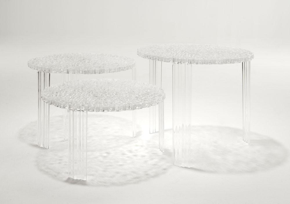 Kartell T Table 28cm Altura Mesa 8500 L Mparas De Dise O