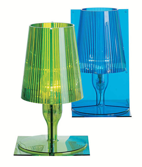 Kartell take table lamp e14 iba max 28w halo 9050 - Table de nuit kartell ...
