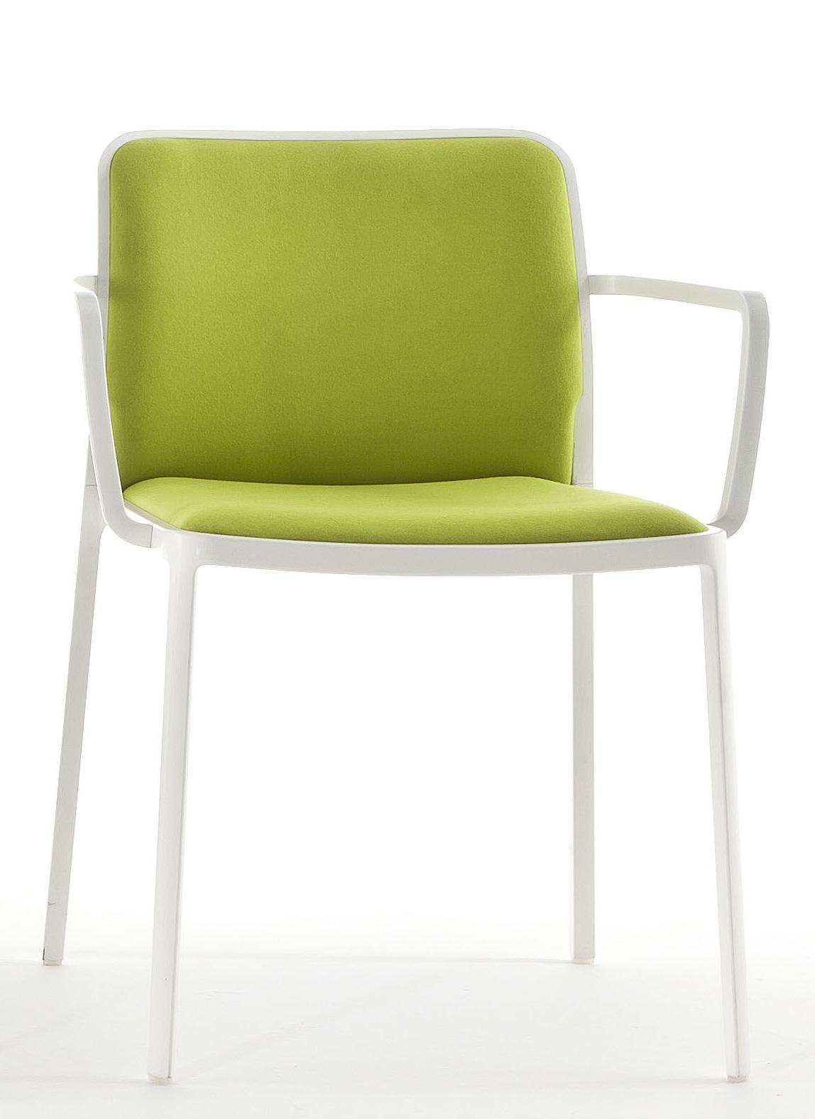 Kartell audrey soft chaise avec bras 2 unit s 5986 for Chaise avec bras