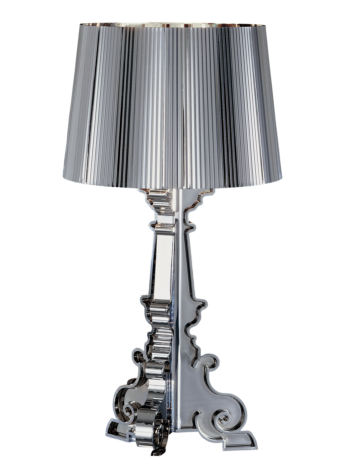 kartell bourgie table lamp metallic with dimmer  - imagen  de bourgie table lamp metallic with dimmer e iba max xw halo