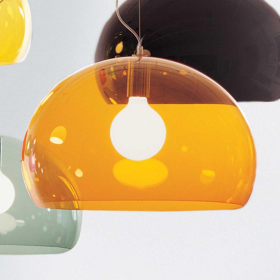 kartell fly lampe suspension e27 52o 9030. Black Bedroom Furniture Sets. Home Design Ideas