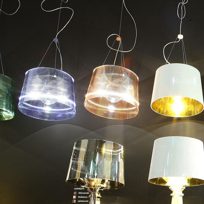 Kartell G 233 Pendant Lamp Transparent E27 Iba Max 9080
