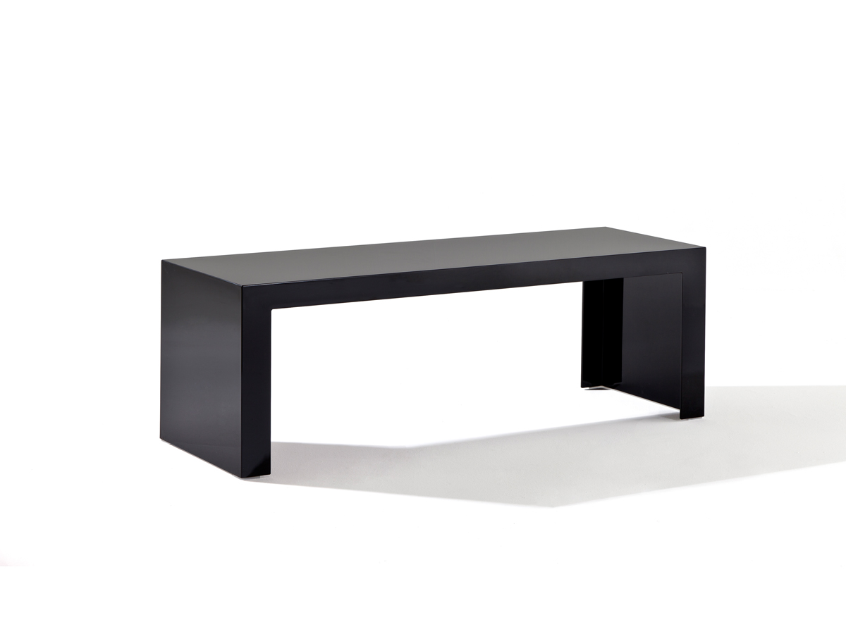 Kartell invisible side table rectangular 40cm 5000 - Table de nuit kartell ...