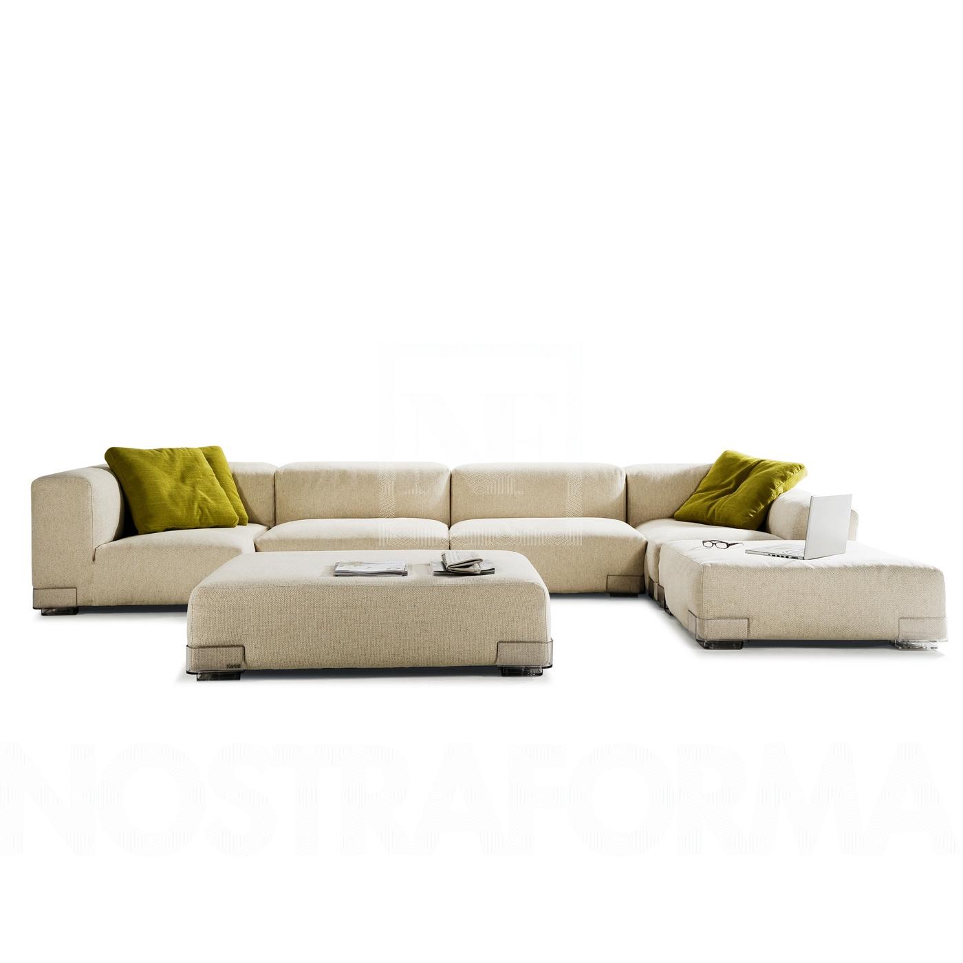 Kartell plastics duo sofa with left arm 88x64cm a7096 for Sofa 400 euro