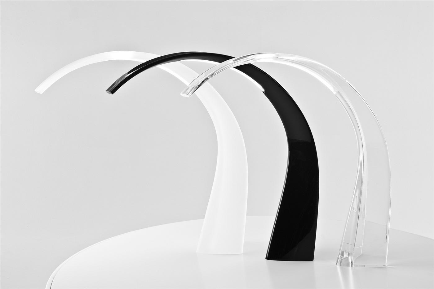 Kartell Taj Lampada da tavolo Satin 9310 - Lámparas de diseño