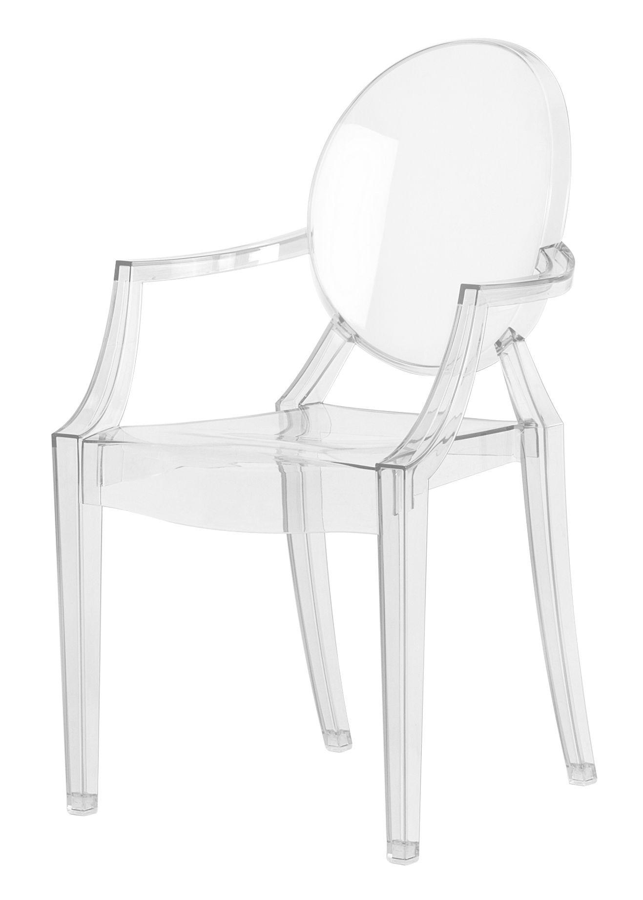 Kartell Lou Lou Ghost sedia infantile (4 unità 2852 - Lámparas de ...