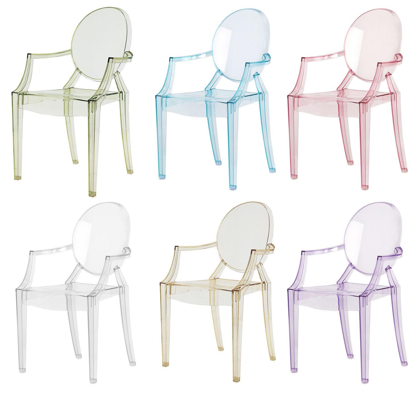 Kartell Louis Ghost sedia (2 unità di 4852 - Lámparas de diseño