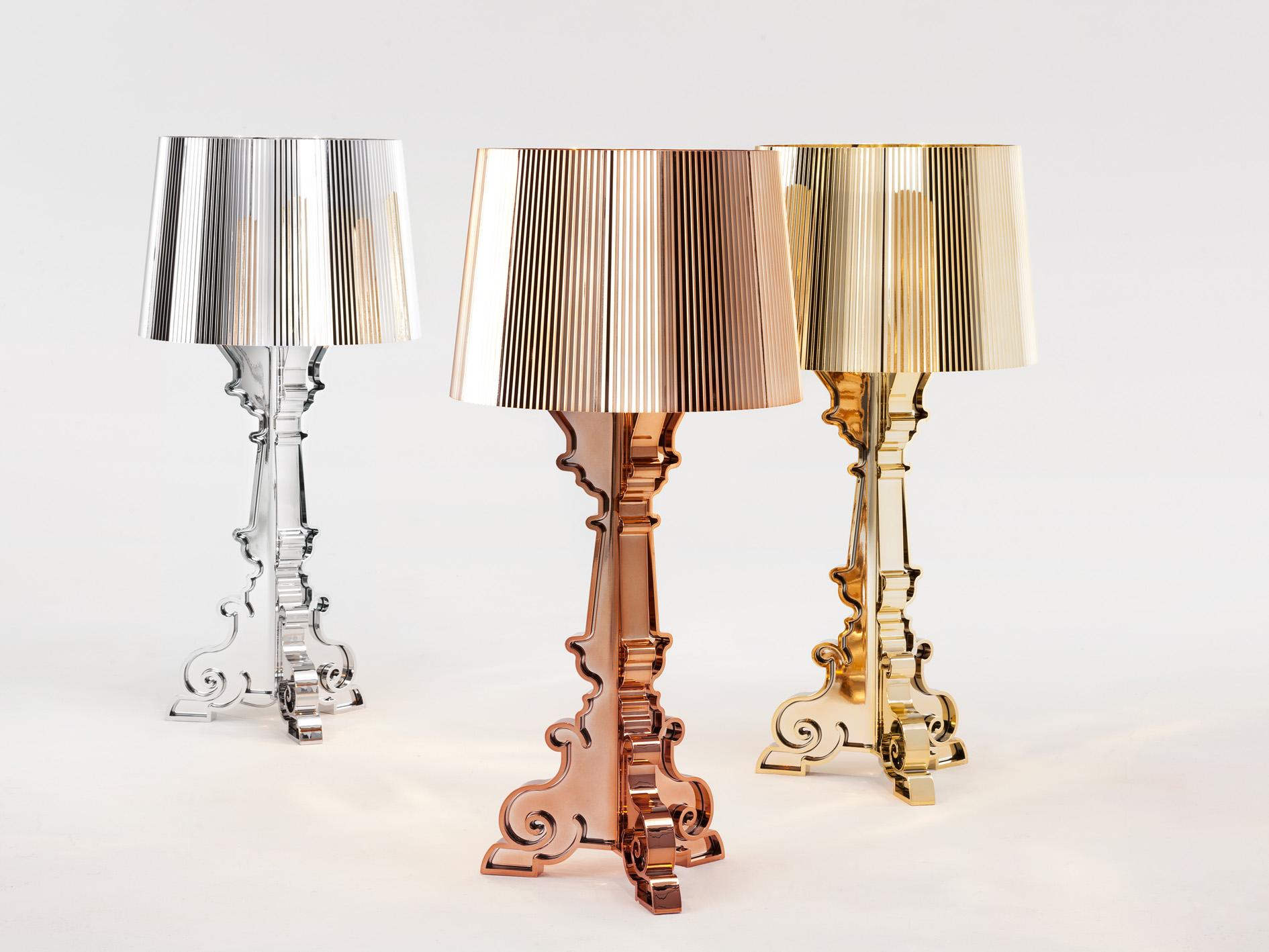 Kartell Bourgie Lampada da tavolo con dimmer E14 9070 - Lámparas de ...