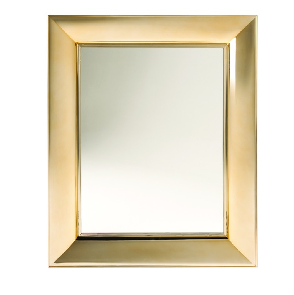 Kartell francois ghost mirror peque o metal 8305 for Miroir francois ghost kartell
