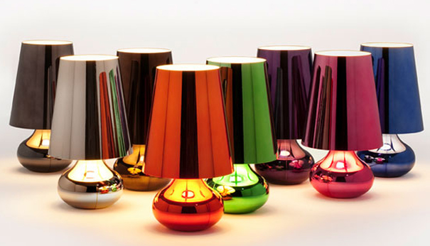Outstanding kartell lamp battery table colorful mohd shop