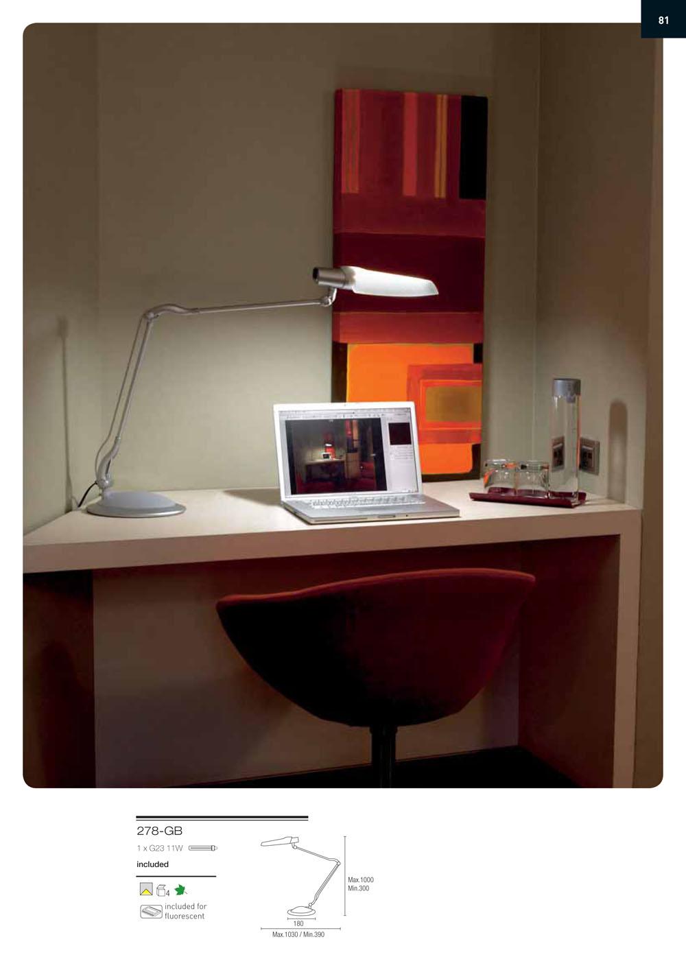la creu sobremesa brest blanco 278 gb l mparas de dise o. Black Bedroom Furniture Sets. Home Design Ideas