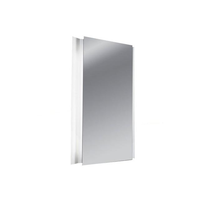 La creu glanz applique avec miroir 94cm t5 2x39w 75 4371 for Miroir avec applique