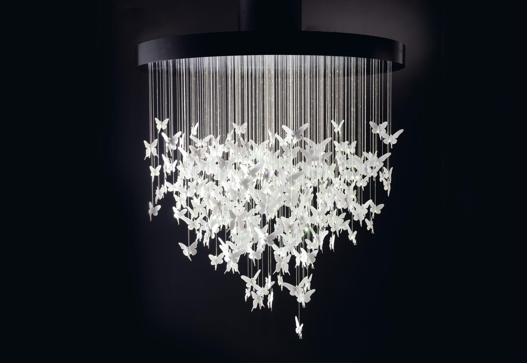 lladro chandelier niagara pendant lamp 2 meters l mparas de dise o. Black Bedroom Furniture Sets. Home Design Ideas