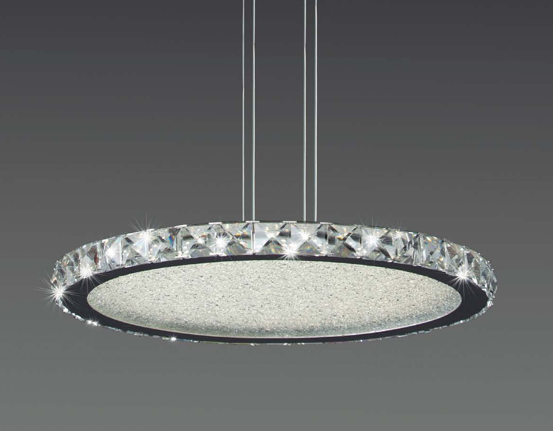 Mantra mantra cristal led l mpara colgante 4578 l mparas - Colgantes de cristal para lamparas ...