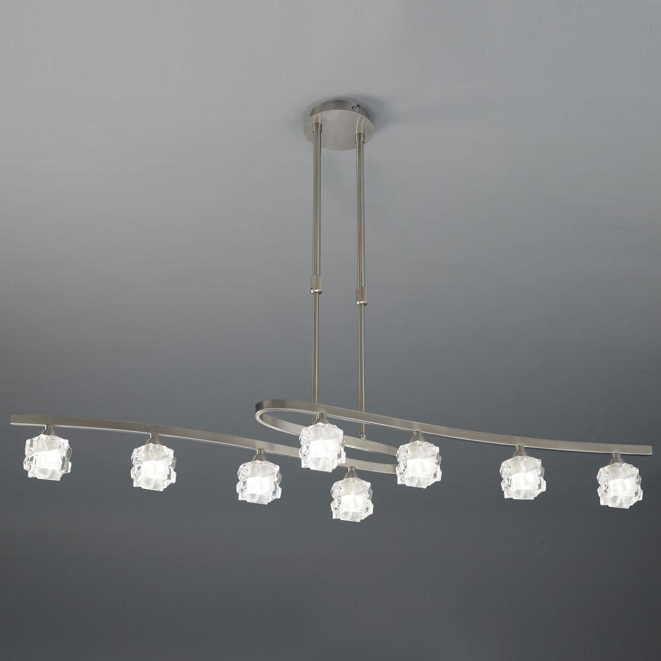 Mantra ice l mpara colgante 8xg9 33w n quel 1850 - Diseno lamparas colgantes ...
