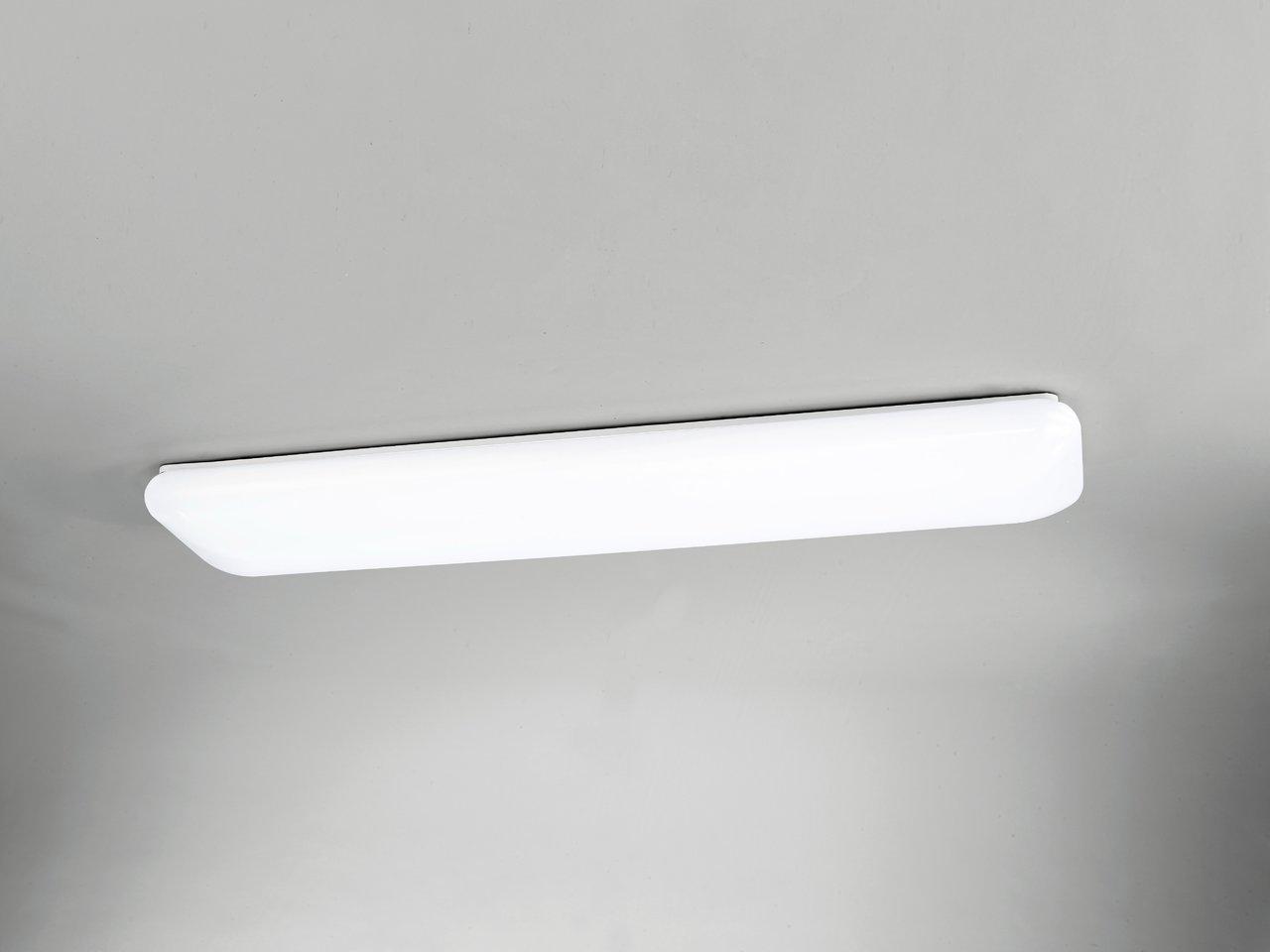 mantra rectangle plafonnier led rectangulaire 3800 lm. Black Bedroom Furniture Sets. Home Design Ideas
