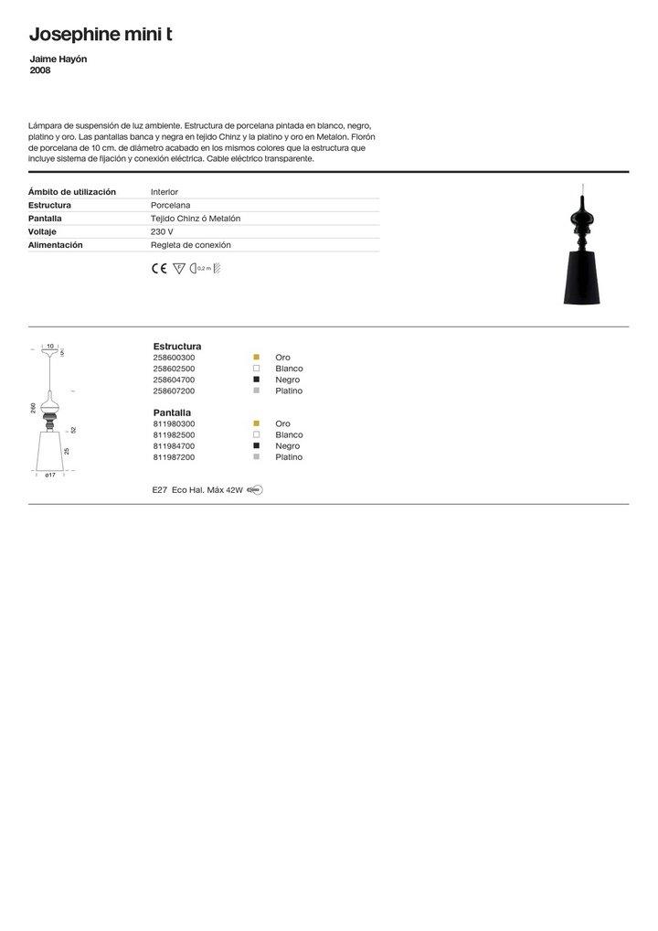 metalarte josephine mini t accessoire abat jour 811984700 l mparas de dise o. Black Bedroom Furniture Sets. Home Design Ideas