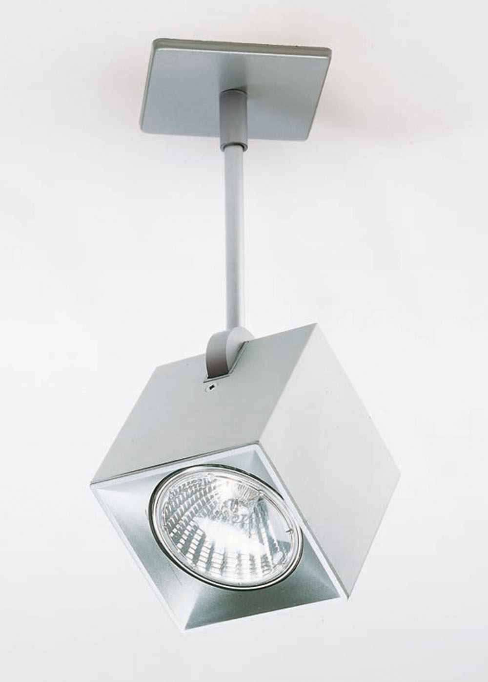 Milan iluminacion dau spot foco 1 luz con base de techo - Iluminacion lamparas de techo ...
