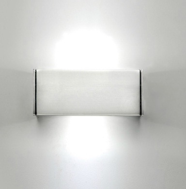 Milan iluminacion t led aplique 10 5cm led 2x4w cromo 6304 for Plafones para pared