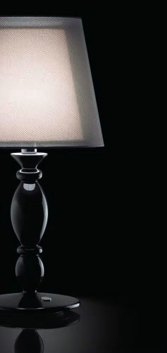 Modiss clasica 30 sobremesa 40cm lacado negro 0816374372 l mparas de dise o - Modiss iluminacion ...