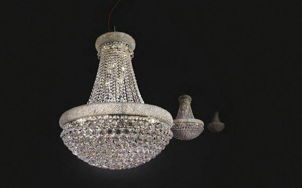 Modiss barbara l mpara colgante cristal 0701358389 - Colgantes de cristal para lamparas ...