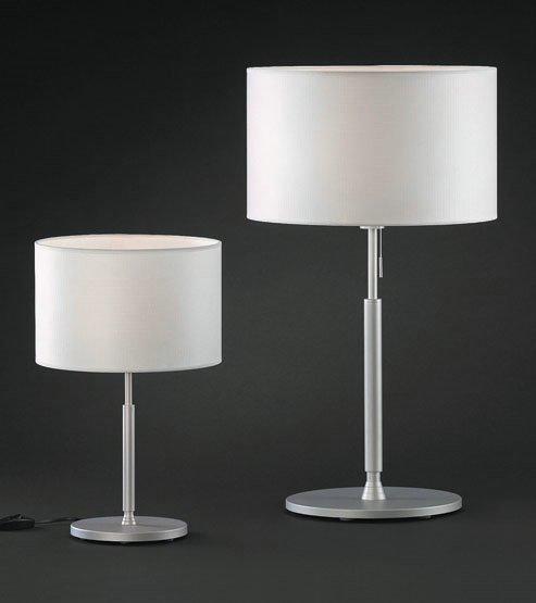 Modiss natali 60 sobremesa 40cm aluminio mate 1200015081 l mparas de dise o - Modiss iluminacion ...