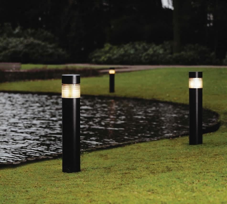Philips luminarias hcp171 vivarazon e27 100w pcp baliza for Balizas solares para jardin